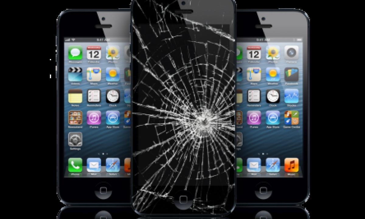 Если разбился айфон перекачаются данные